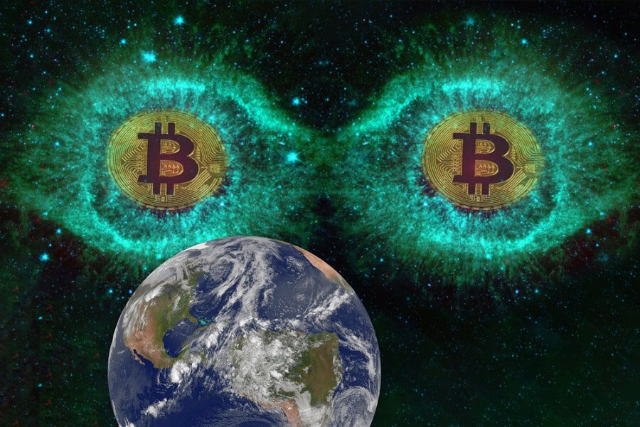 When Bitcoin Alien visited earth in 2009