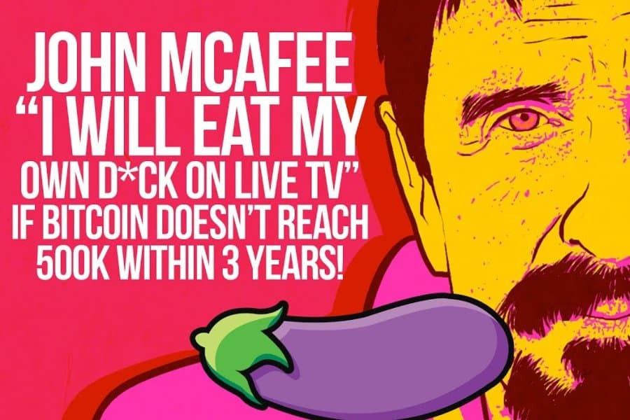 John McAfee is undoubtedly the most influential figures in the cryptocurrency industry. Having been in constant fights with a number of financial regulators