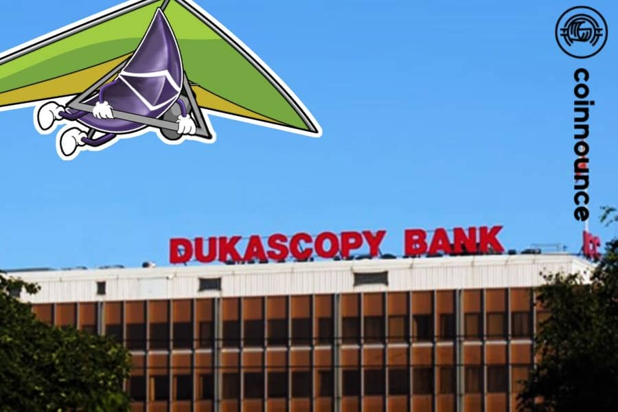 A Swiss bank, Dukascopy, reported this Thursday they are to use ethereum's public blockchain for an Initial Coin Offering (ICO).