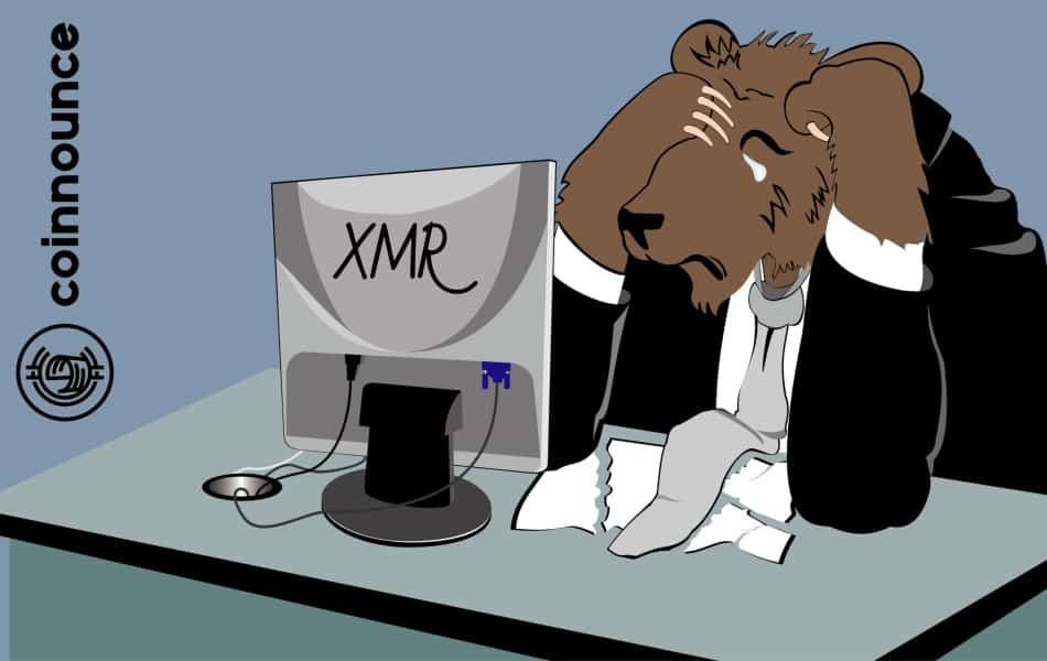 XMR is in a bearish trend on the long-term outlook. The cryptocurrency has been in the downward channel since 5th September after the long bearish trend.