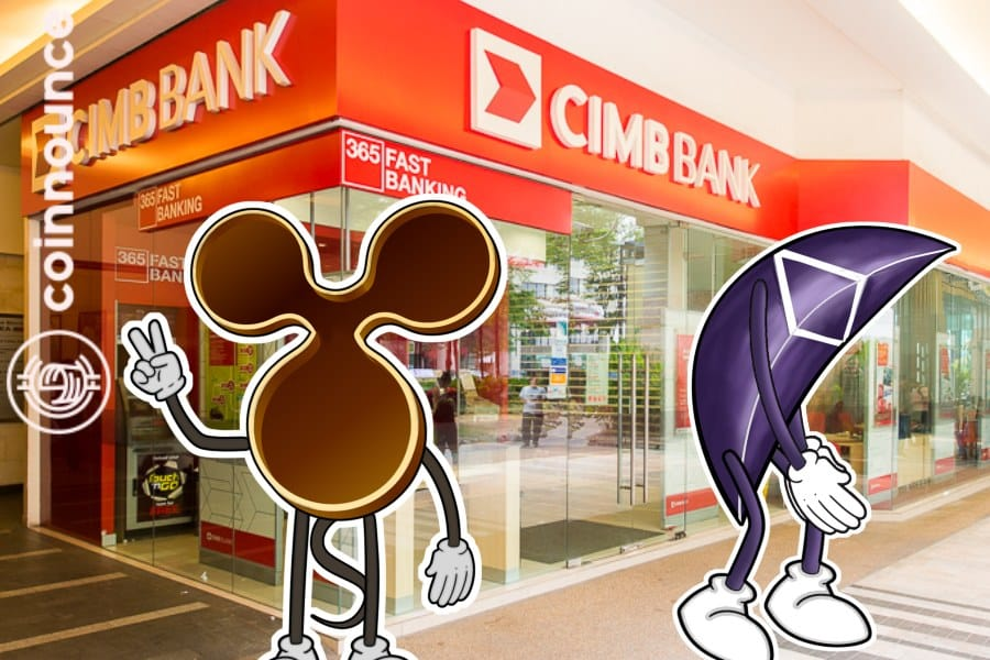 Ripple has partnered with yet another large bank CIMB Group and secured the 2nd position according to the market capitalization.