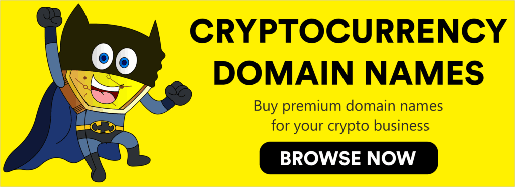 Cryptocurrency & Blockchain Domain Names